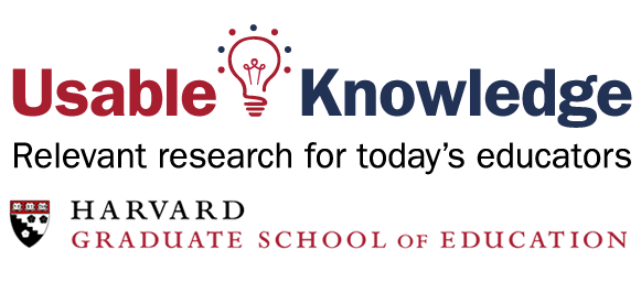Usable Knowledge and Harvard Grad School Logo